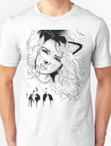 Tori Kelly Kitty Tumblr Pen Drawing T-Shirt