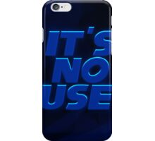 It's No Use Sonic iPhone Case/Skin