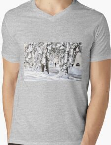 Winter Wonderland Walk... Mens V-Neck T-Shirt