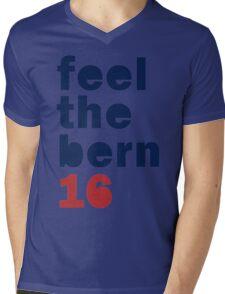 Feel The Bern Shirt - Bernie 2016 Feel The Bern T Shirt Mens V-Neck T-Shirt