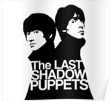 The Last Shadow Puppets (Black and White) Poster