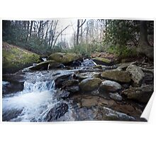 Mountain Stream - Blue Ridge Parkway Poster