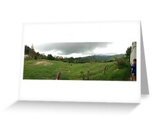 Costa Rican Countryside Greeting Card