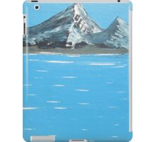 high mountain valley iPad Case/Skin