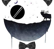 Dark Panda by klagraphics