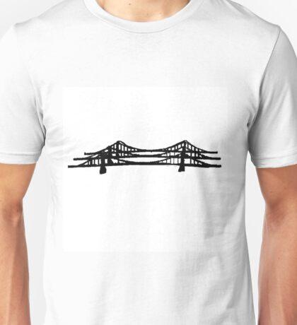 Pittsburgh Sister Bridges Unisex T-Shirt