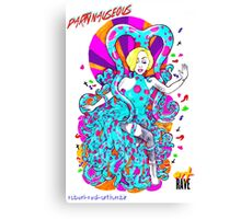 PartyNauseous Canvas Print