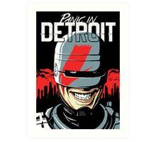 Panic in Detroit Art Print