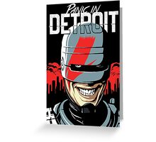 Panic in Detroit Greeting Card