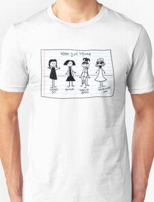 Teen Girl Squad Unisex T-Shirt