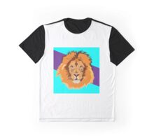 Colorful lion Graphic T-Shirt