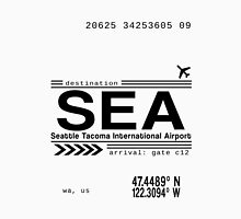 Seattle Tacoma International Airport Call Letters Unisex T-Shirt