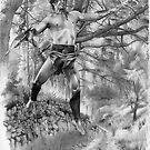 Ancient Celtic Warrior by David J. Vanderpool
