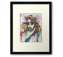 Bearded Double  Framed Print