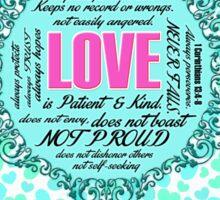 Love Notebook Sticker