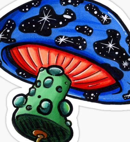 Space Shroom Sticker