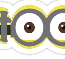 Minions Patoot Sticker