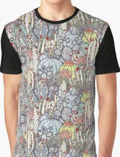 Cactus Oasis Graphic T-Shirt