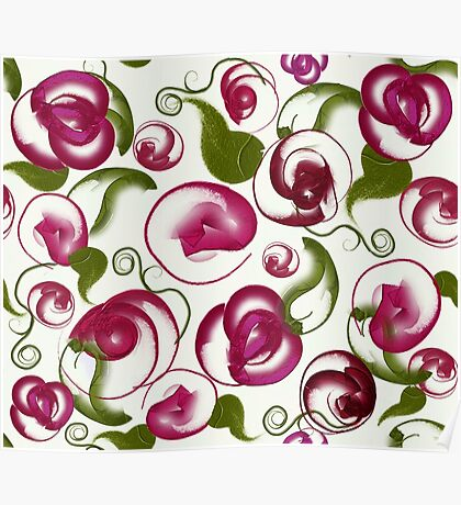 New Love: Modern Roses by Alma Lee Poster