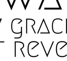 Beyoncé Formation - Best Revenge Is Your Paper Sticker