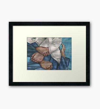 Kimura Framed Print