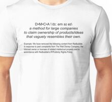 DMCA Dictionary Style + Example Unisex T-Shirt