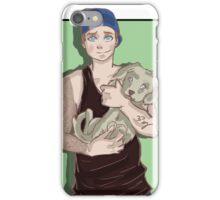 A boy iPhone Case/Skin