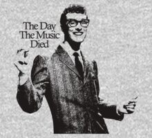 BUDDY HOLLY : THE DAY THE MUSIC DIED One Piece - Long Sleeve