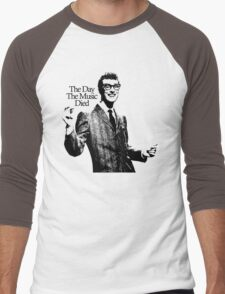 BUDDY HOLLY : THE DAY THE MUSIC DIED Men's Baseball ¾ T-Shirt