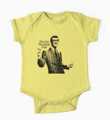 BUDDY HOLLY : THE DAY THE MUSIC DIED One Piece - Short Sleeve