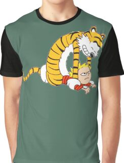 CALVIN & HOBBES : CATCH YOU! Graphic T-Shirt