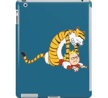 CALVIN & HOBBES : CATCH YOU! iPad Case/Skin