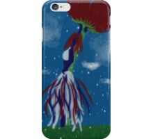 Summer snowfall iPhone Case/Skin