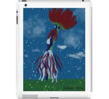 Summer snowfall iPad Case/Skin