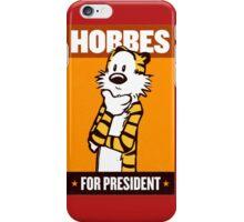 HOBBES FOR PRESIDENT iPhone Case/Skin