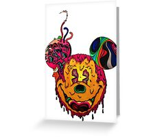 Trippy Greeting Card