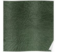 Green Extrusion Poster
