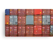 Stacked Containers Canvas Print