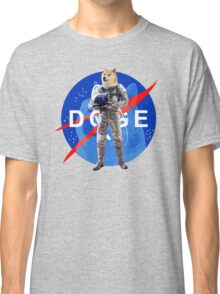 Doge Astronaut In Space Classic T-Shirt