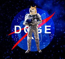 Doge Astronaut In Space by Doge21