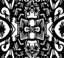 Dark Geometric Life Sticker