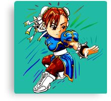 STREET FIGHTER : CHUN LI Canvas Print