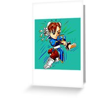 STREET FIGHTER : CHUN LI Greeting Card