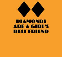 Diamonds are a Girl's Best Friend Womens Fitted T-Shirt