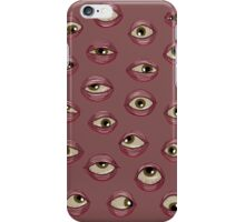 Fleshy Eyeballs iPhone Case/Skin