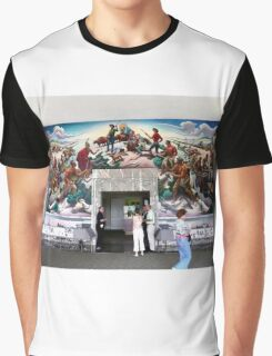 Mural, Temple of the Community of Christ, Independence, Missouri USA Graphic T-Shirt