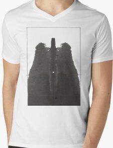 Lungs Mens V-Neck T-Shirt