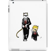 Calvin And Hobbes Partners In Crime iPad Case/Skin