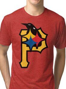 Pittsburgh Pirates Good Logo Tri-blend T-Shirt