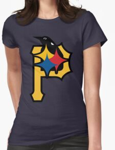 Pittsburgh Pirates Good Logo Womens Fitted T-Shirt